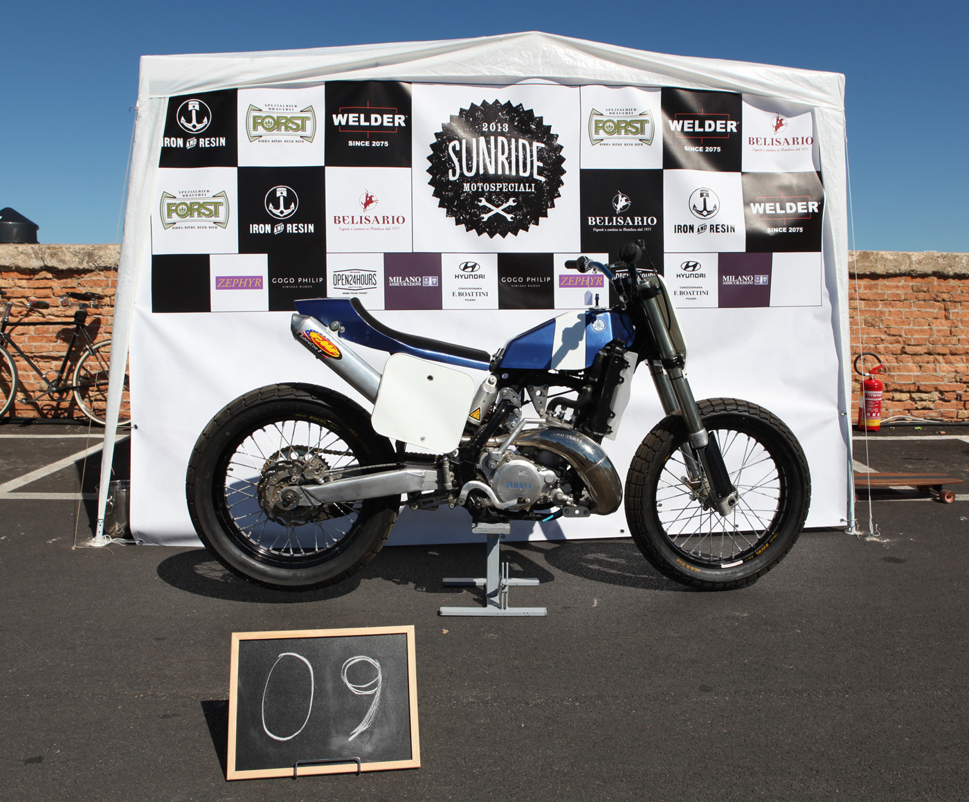 Yamaha YZ 250 - 1994 / Flat Tracker - 2012 by Lorenzo Buratti // SUNRIDE ICON AWARD 2013