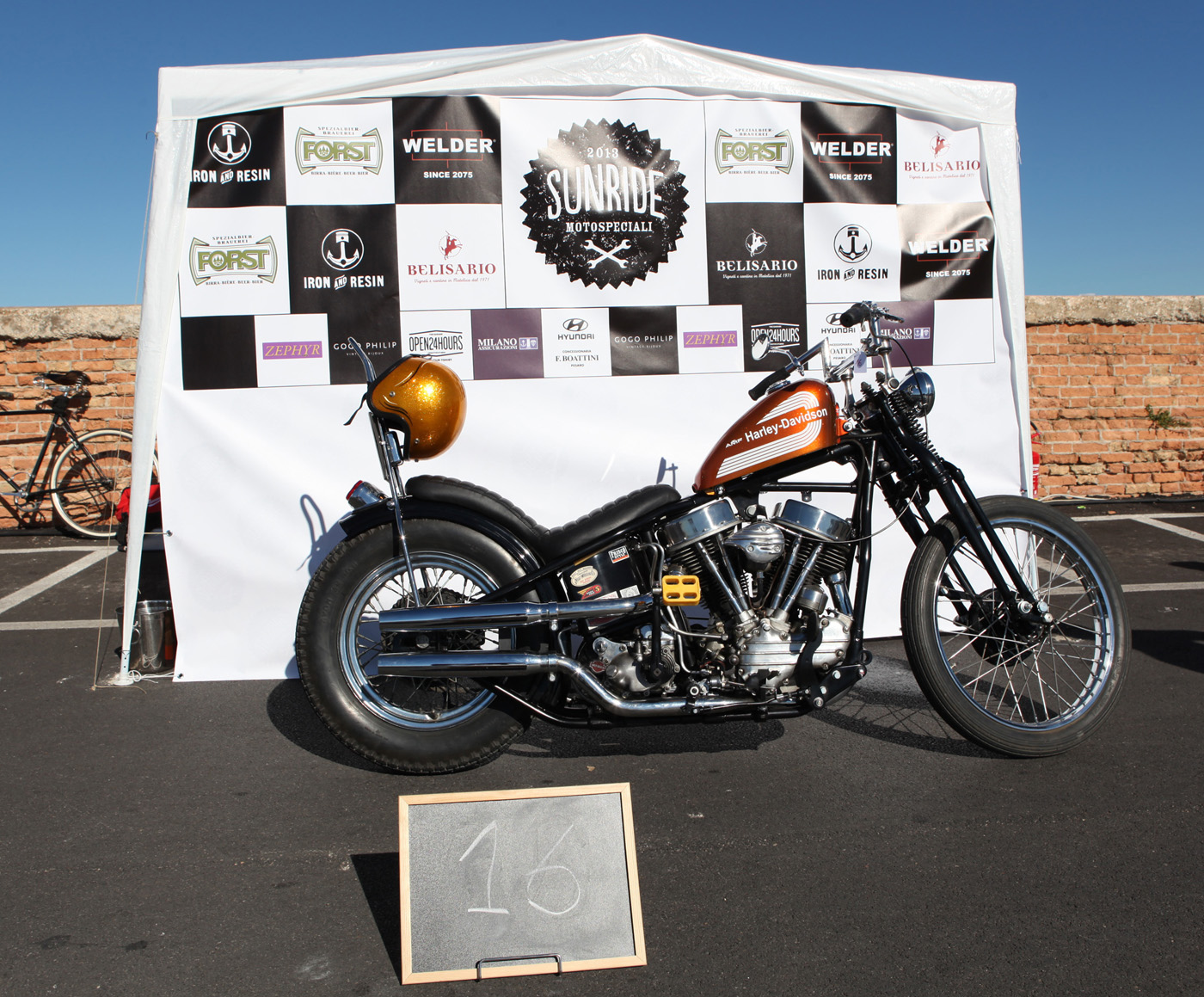 Harley Davidson Panhead Chopper - 1964 / 2013 by Dos Cilindros
