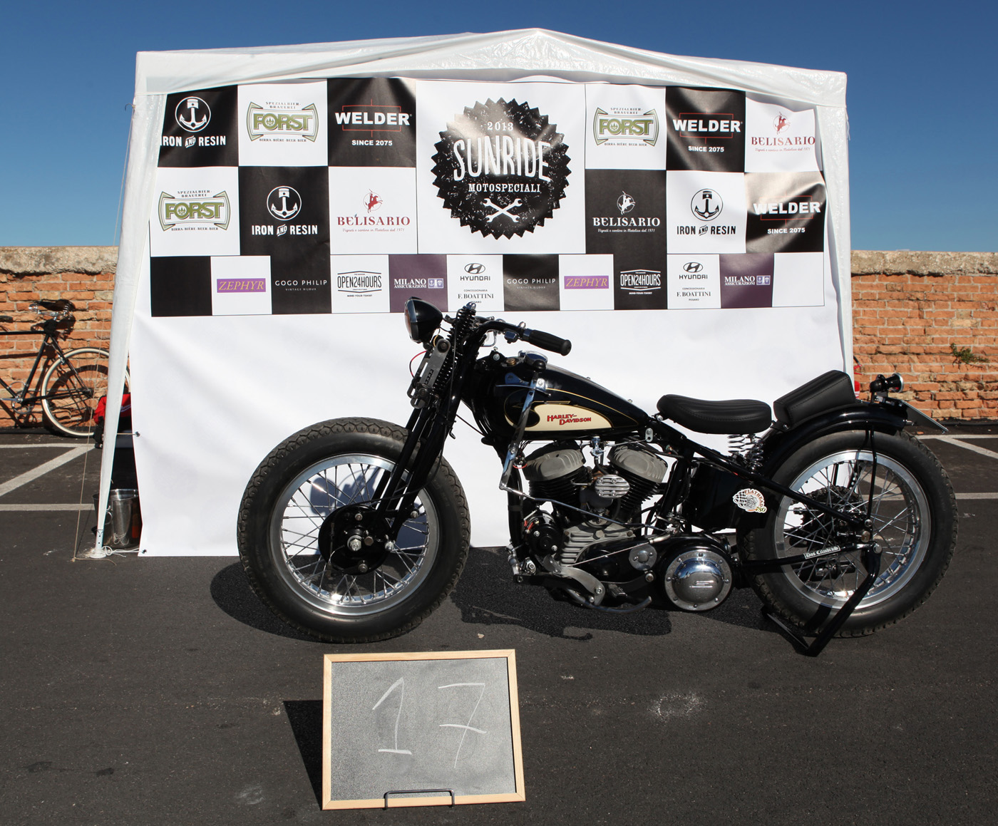 Harley Davidson WLR - 1942 / special - 2013 by Dos Cilindros